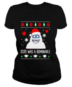 Bigfoot Santa 2020 was a Bominable Christmas shirt