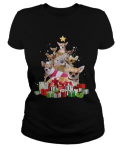 Chihuahua Christmas Tree  Classic Ladies