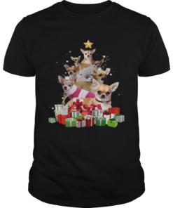 Chihuahua Christmas Tree  Unisex