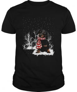 Dachshund Merry Christmas  Unisex
