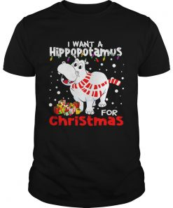 I Want A Hippopotamus For Christmas  Unisex