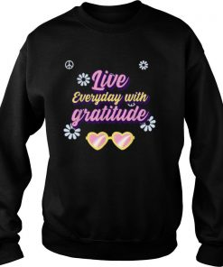 Live everyday with Gratitude Holiday Family Apparel shirt