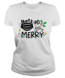 Mask ed and Merry Christmas 2020  Classic Ladies