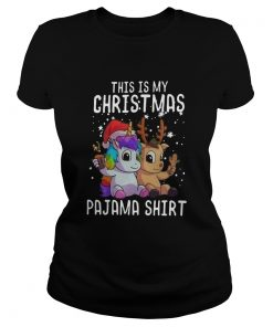 This Is My Christmas Pajama  Classic Ladies