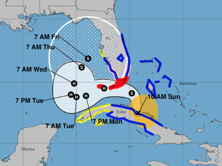 Tropical Storm Eta Could Become A Hurricane Dousing Florida With A Foot Of Rain