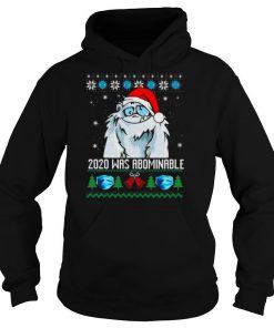 2020 Was Abominable Ugly Merry Christmas shirt
