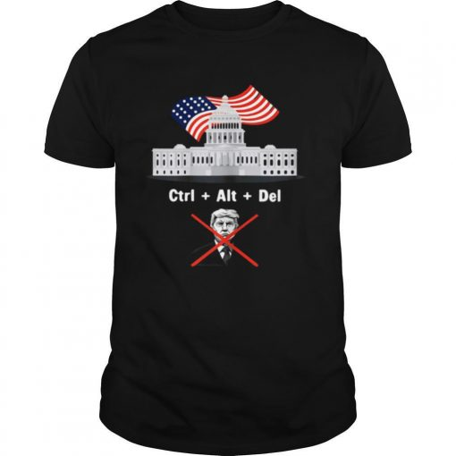 Byedon Trump Sore Loser Get Out of the House Deleted shirt