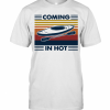 Coming In Hot Vintage T-Shirt Classic Men's T-shirt