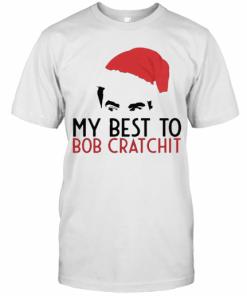 David Rose Santa 2020 My Best To Bob Cratchit T-Shirt Classic Men's T-shirt