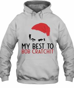 David Rose Santa 2020 My Best To Bob Cratchit T-Shirt Unisex Hoodie