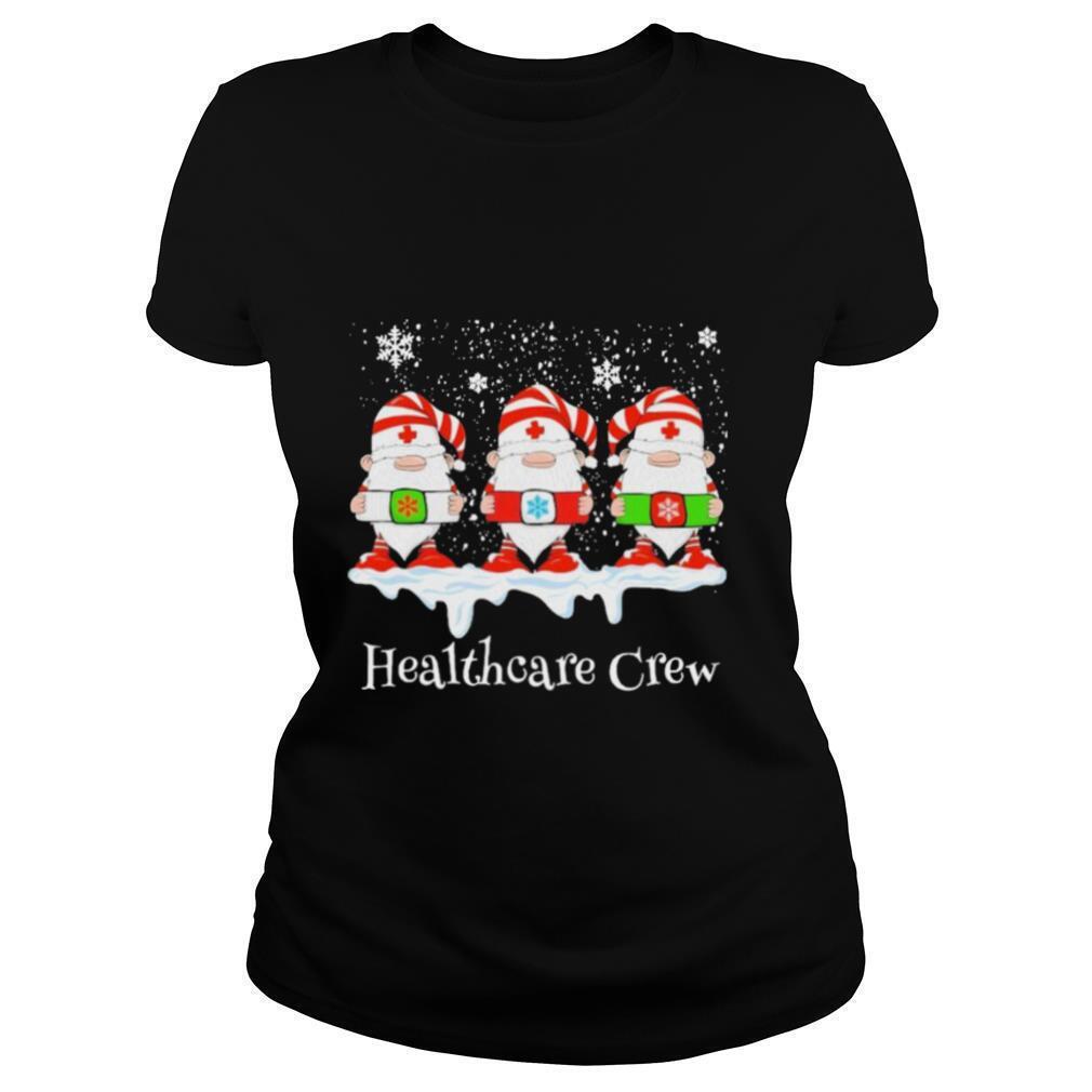 Gnome Nurse Healthcare Crew Merry Christmas 2020 shirt
