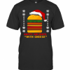 Happy Holidays With Cheese T-Shirt Classic Men's T-shirt