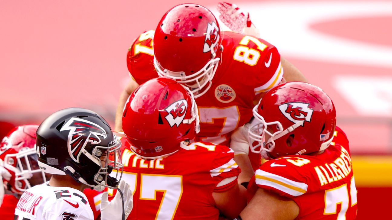 Kansas City Chiefs clinch No 1 seed in AFC as Travis Kelce sets records