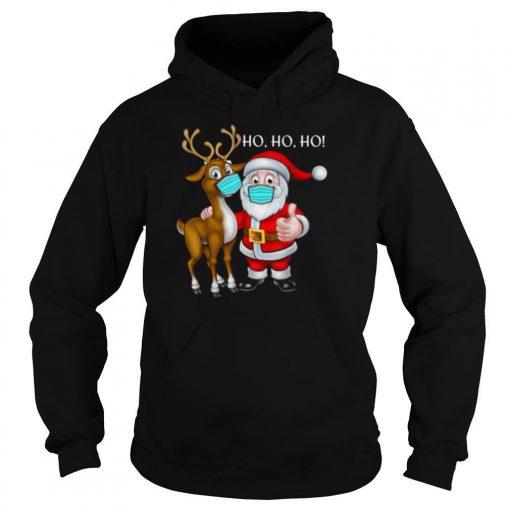 Mask Reindeer Santa 2020 shirt