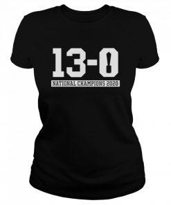 13 0 Alabama National Champions 2021  Classic Women's T-shirt