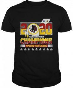 2020 NFC East Division Champions Washington Redskins  Classic Men's T-shirt