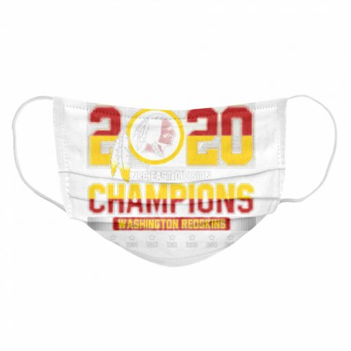 2020 NFC East Division Champions Washington Redskins  Cloth Face Mask