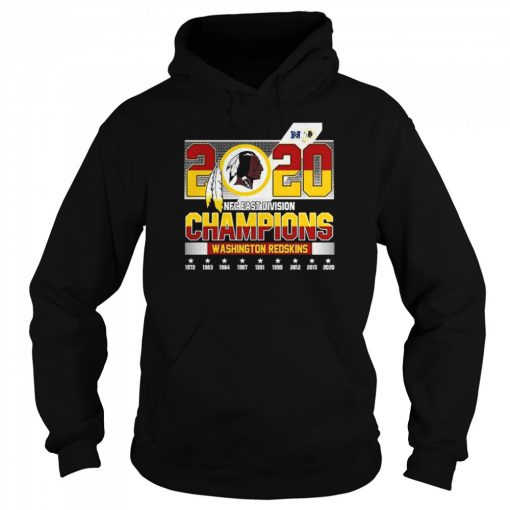 2020 NFC East Division Champions Washington Redskins  Unisex Hoodie