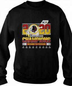 2020 NFC East Division Champions Washington Redskins  Unisex Sweatshirt