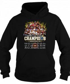 2020 Nfc East Division Champions Washington Football Team Signatures  Unisex Hoodie