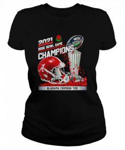 2021 Rose Bowl Game Champions Alabama Crimson Tide  Classic Women's T-shirt
