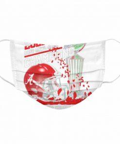 2021 Rose Bowl Game Champions Alabama Crimson Tide  Cloth Face Mask