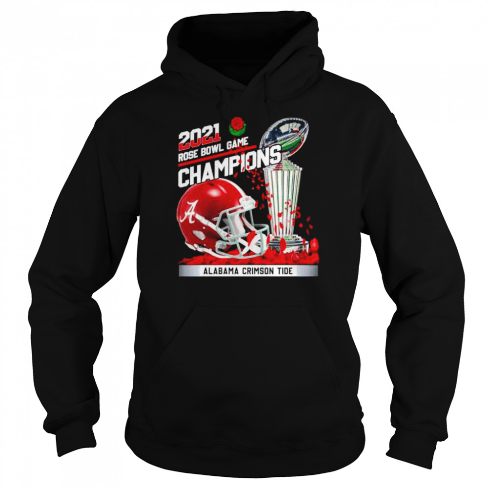 2021 Rose Bowl Game Champions Alabama Crimson Tide  Unisex Hoodie