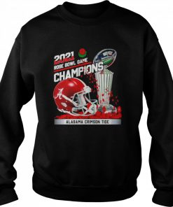 2021 Rose Bowl Game Champions Alabama Crimson Tide  Unisex Sweatshirt