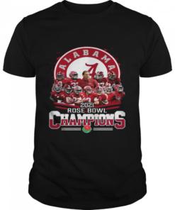 Alabama Crimson Tide 2021 Rose Bowl Champions  Classic Men's T-shirt