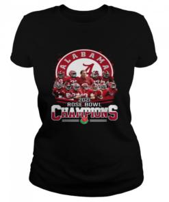 Alabama Crimson Tide 2021 Rose Bowl Champions  Classic Women's T-shirt