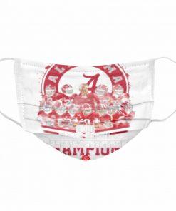 Alabama Crimson Tide 2021 Rose Bowl Champions  Cloth Face Mask