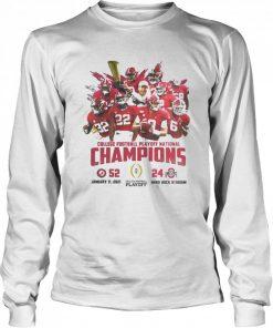 Alabama crimson college football playoff national champions 2021  Long Sleeved T-shirt