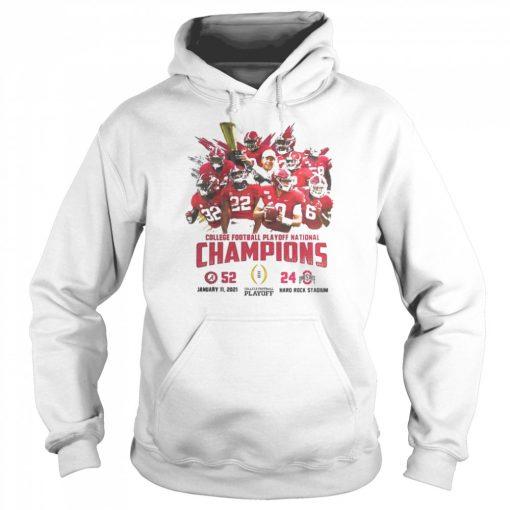 Alabama crimson college football playoff national champions 2021  Unisex Hoodie