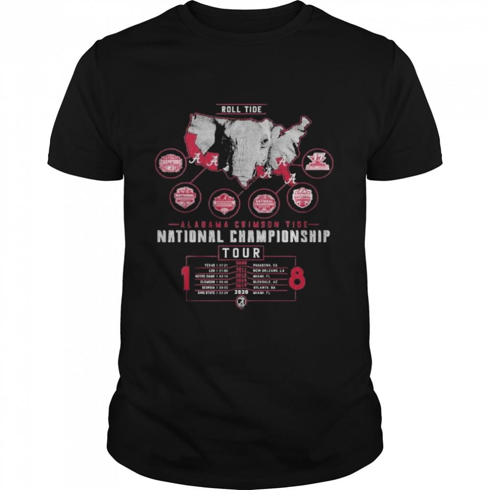 Alabama crimson tide national championship 2021  Classic Men's T-shirt