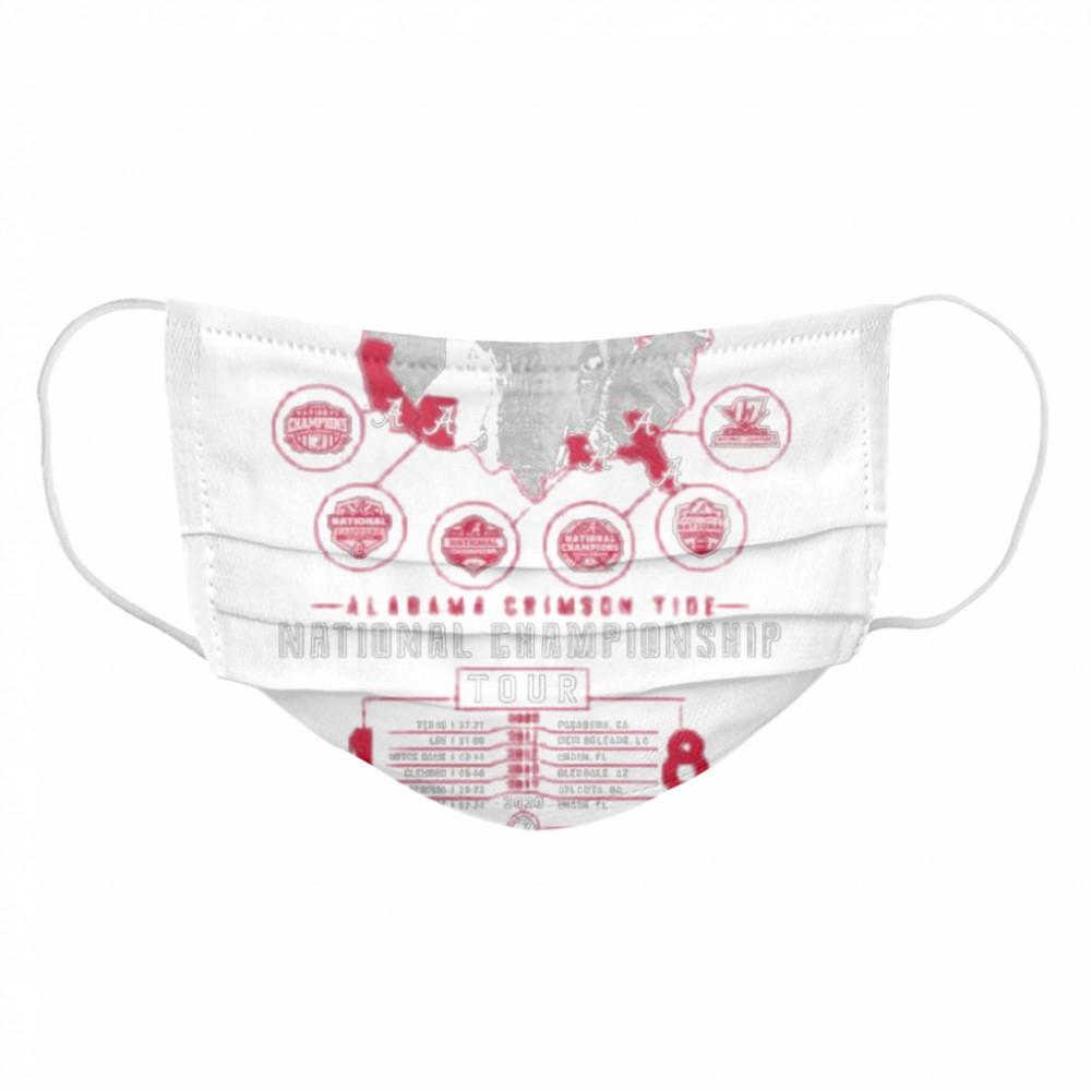 Alabama crimson tide national championship 2021  Cloth Face Mask