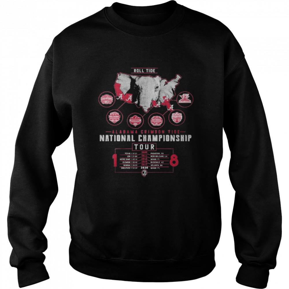 Alabama crimson tide national championship 2021  Unisex Sweatshirt