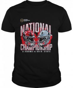 Alabama crimson tide vs ohio state buckeyes college football playoff 2021  Classic Men's T-shirt