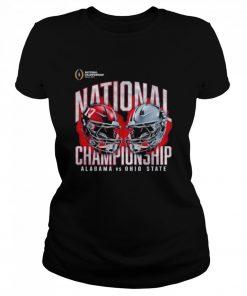 Alabama crimson tide vs ohio state buckeyes college football playoff 2021  Classic Women's T-shirt