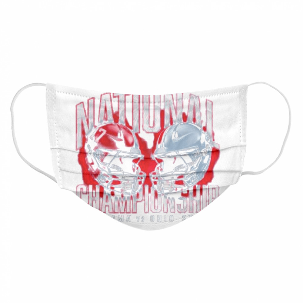 Alabama crimson tide vs ohio state buckeyes college football playoff 2021  Cloth Face Mask