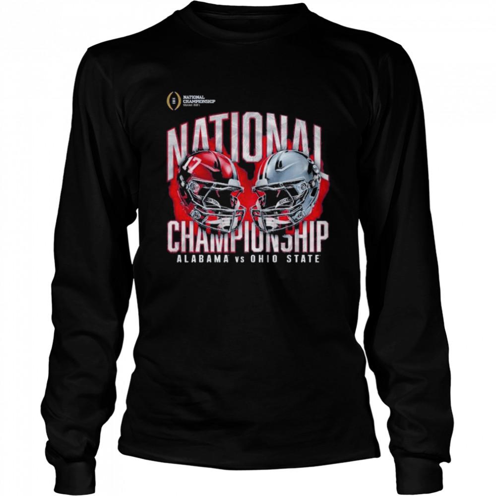 Alabama crimson tide vs ohio state buckeyes college football playoff 2021  Long Sleeved T-shirt