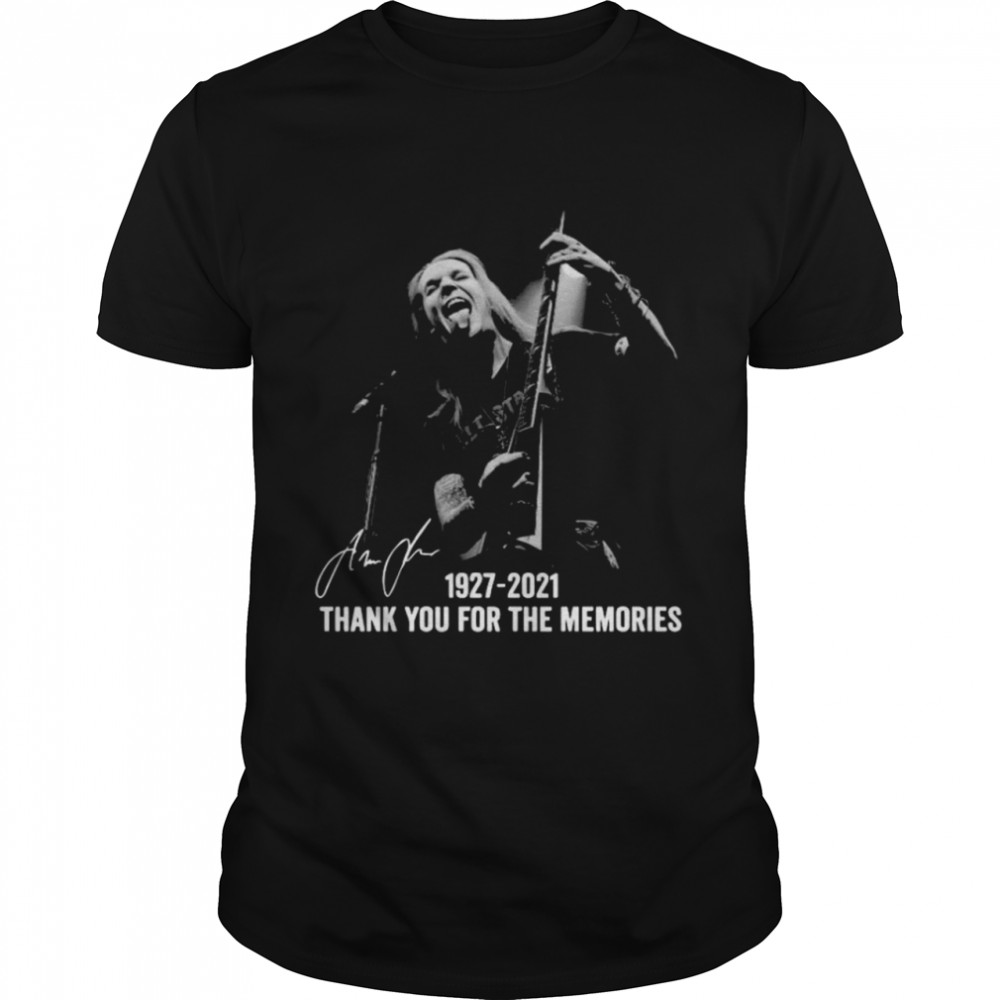 Alexi Laiho 1927 2021 Thank You For The Memories Signatures  Classic Men's T-shirt