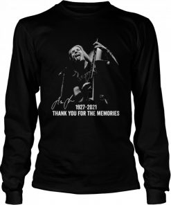 Alexi Laiho 1927 2021 Thank You For The Memories Signatures  Long Sleeved T-shirt