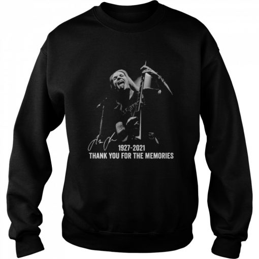 Alexi Laiho 1927 2021 Thank You For The Memories Signatures  Unisex Sweatshirt