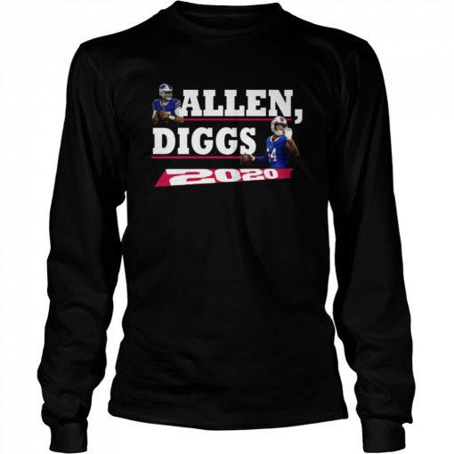 Allen Diggs 2020 Buffalo  Long Sleeved T-shirt