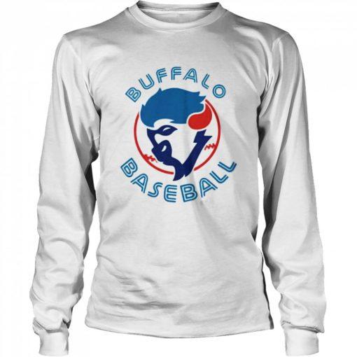 Buffalo baseball 2021 Long Sleeved T-shirt