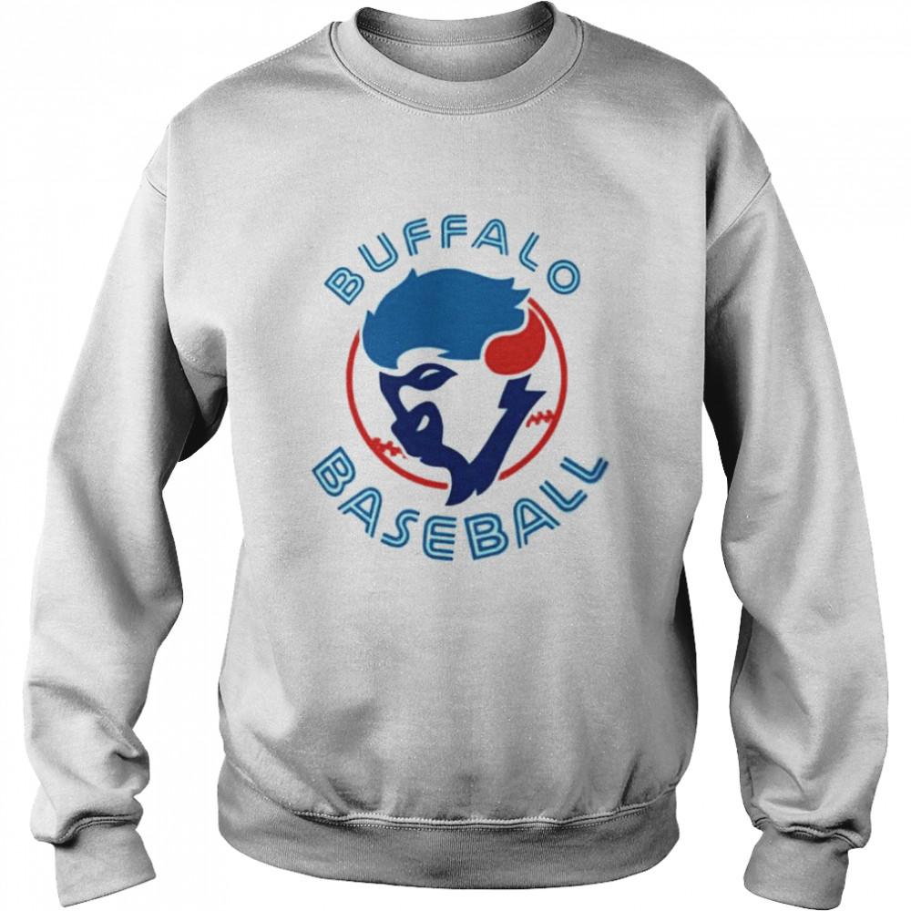 Buffalo baseball 2021 Unisex Sweatshirt