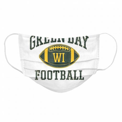 Green Bay Football Wisconsin  Cloth Face Mask