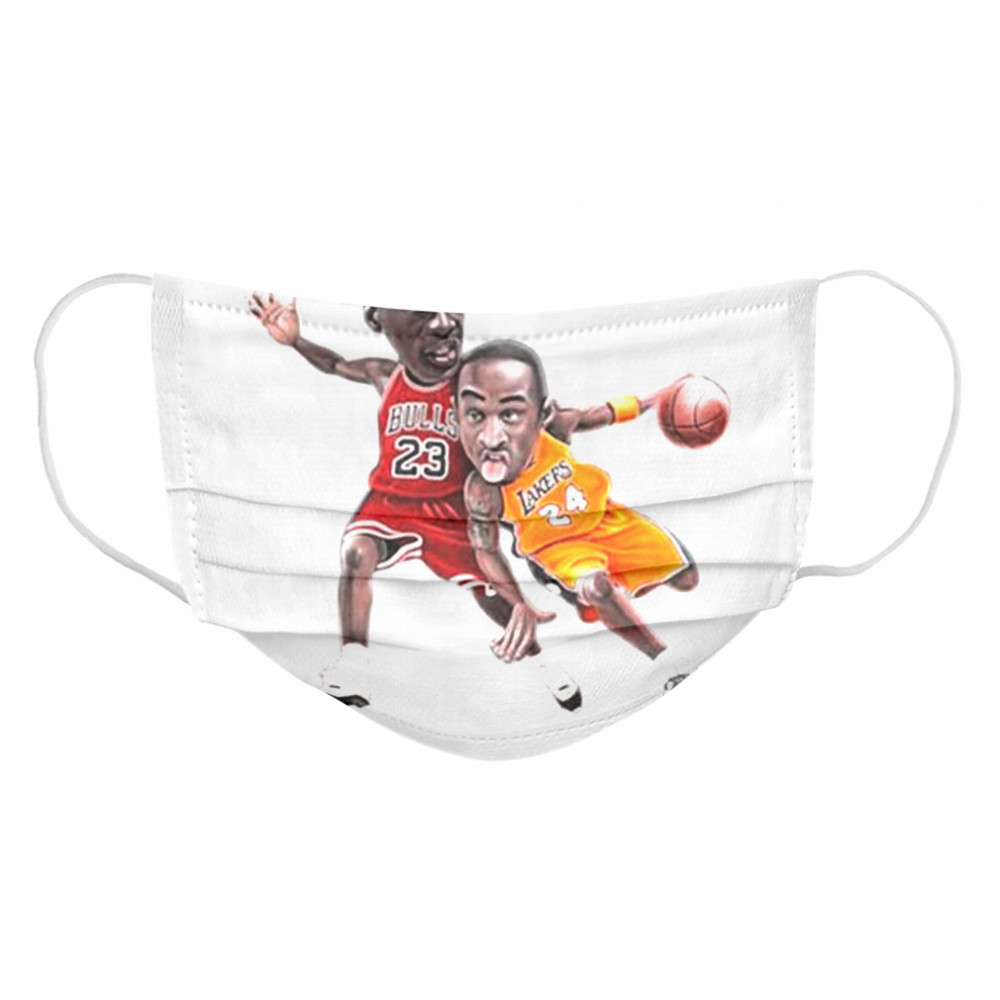 Lebra James and Kobe Bryant 2021 Cloth Face Mask