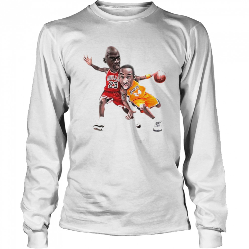 Lebra James and Kobe Bryant 2021 Long Sleeved T-shirt
