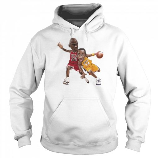 Lebra James and Kobe Bryant  Unisex Hoodie